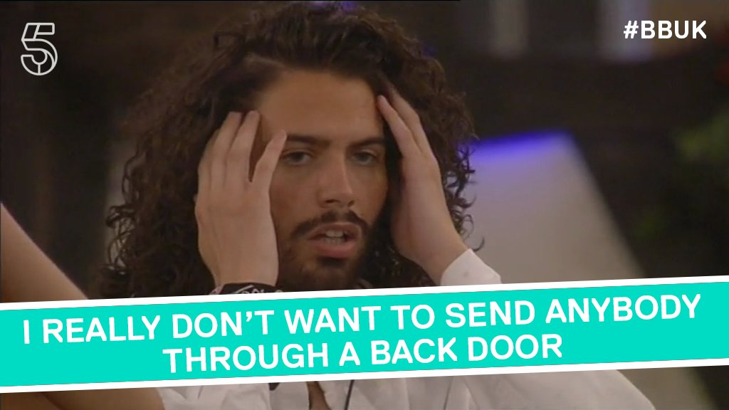 It's okay Andrew, the back door isn't THAT bad. Honest! #BBUK https://t.co/Iy4OHIT2u3