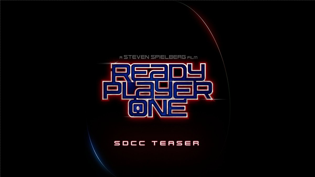 Are you ready? #ReadyPlayerOne