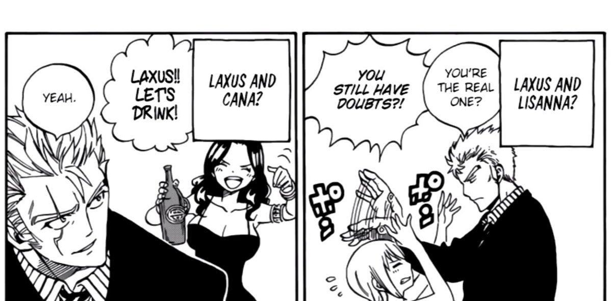 Rt Your Anime Manga Otps On Twitter Laxus And Mirajane Laxus And Lisanna Laxus And Cana Lol Fairy Tail Only add deviations which are related to laxus or mirajane! rt your anime manga otps on twitter
