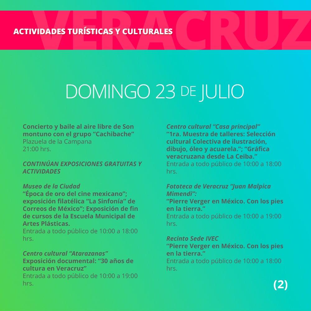 Disfruta Veracruz on Twitter Conoce las actividades tursticas y