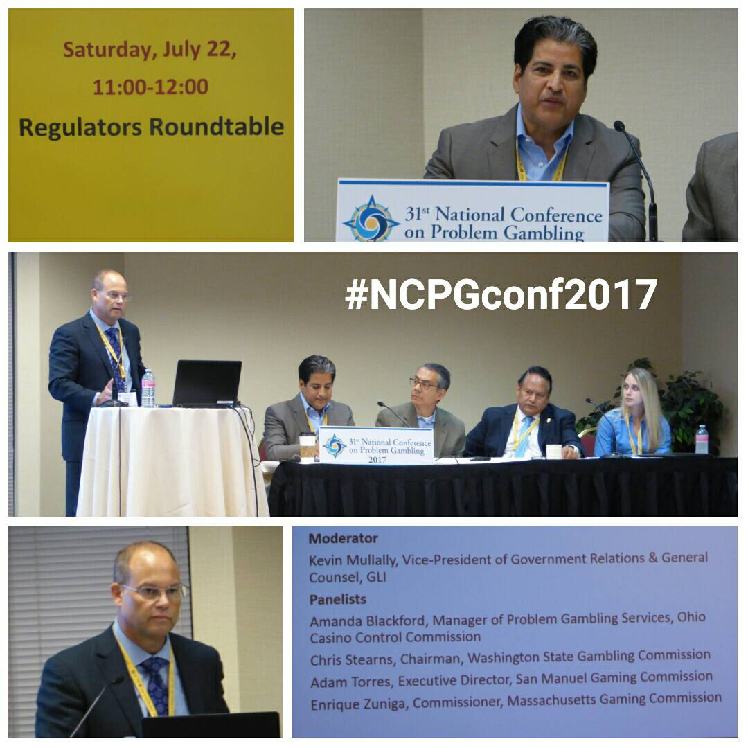 The regulators roundtable was an informative discussion at the #NCPGconf2017 #problemgambling <br>http://pic.twitter.com/rlovI2tS11
