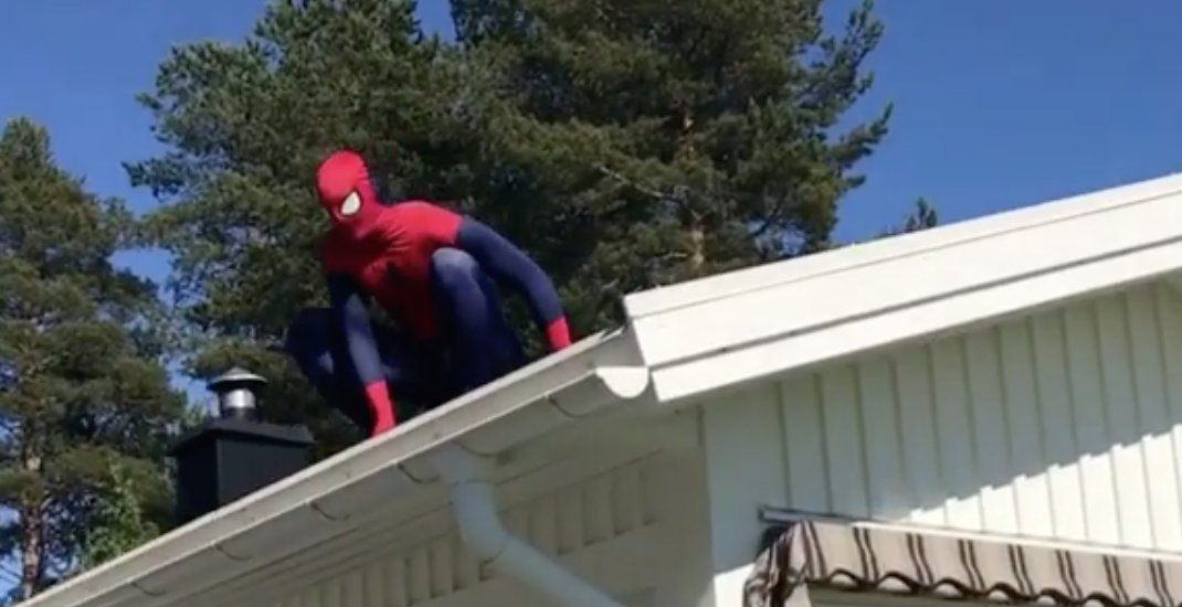 New #Canucks goalie Anders Nilsson dresses up as Spider-Man for son's...