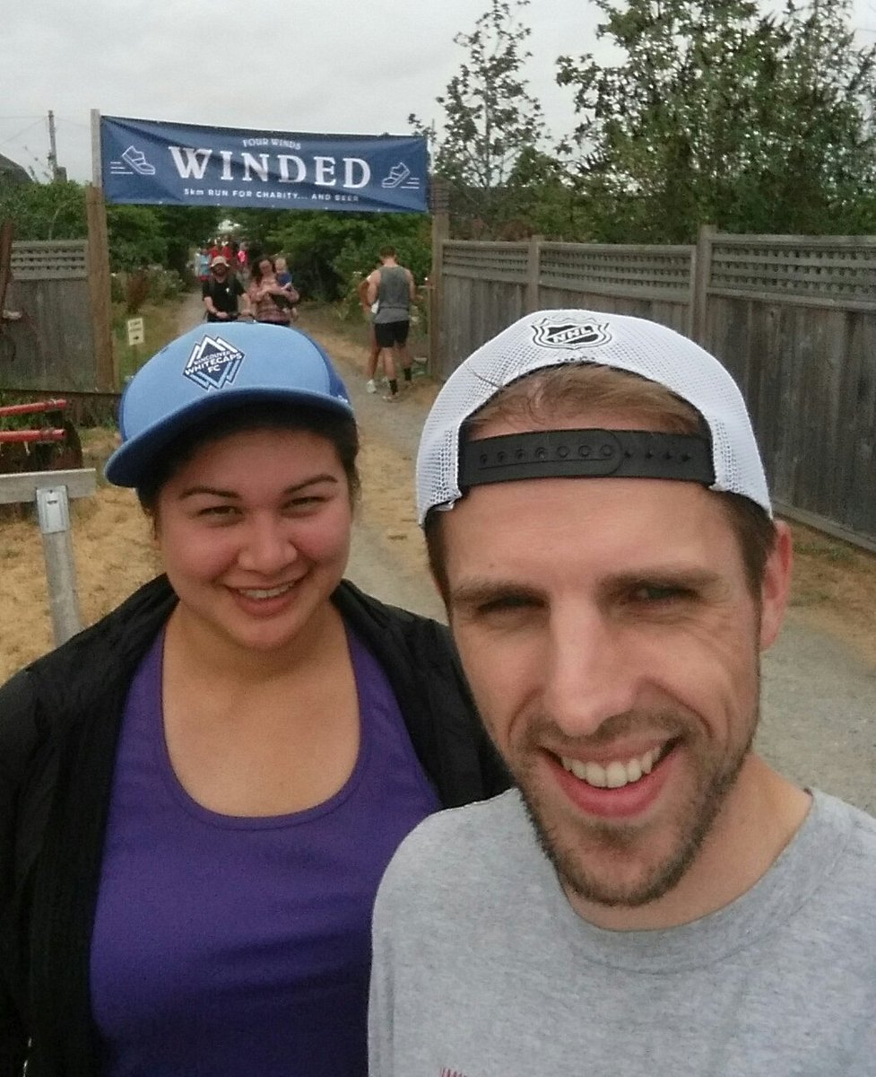 Great beer and bbq today at Winded #funrun #5km @FourWindsBrewCo @deltassistcares<br>http://pic.twitter.com/Yf30QfuJmY
