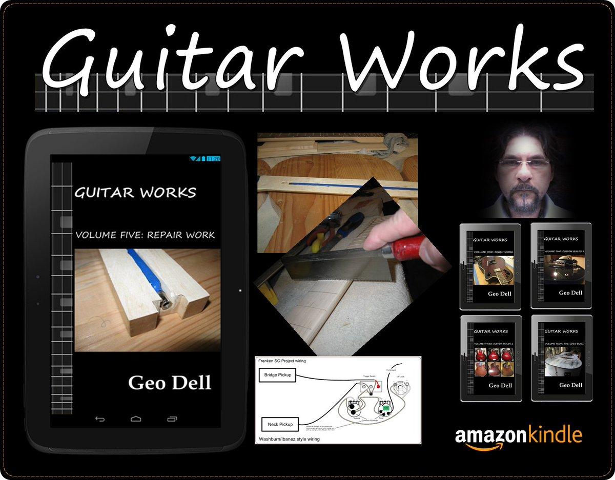 Guitar Works Volume 5: Repair work. Learn to do custom repair work. #Guitar #Kindle #Luthier  https://www. amazon.com/dp/B06XPCGGLZ  &nbsp;  <br>http://pic.twitter.com/JdKvIXPmzK