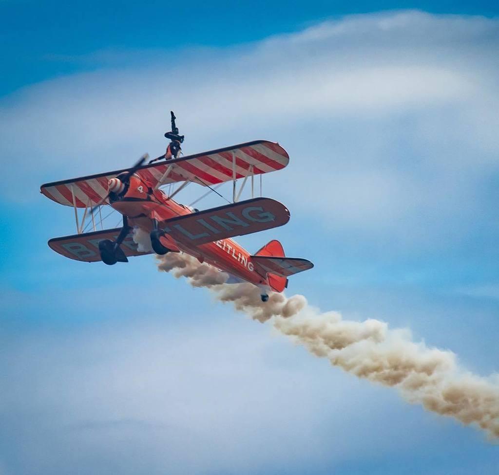 Wing walking #sunderlandairshow #wingwalking #airshow #biplane #stunt #airshow2017 #planes #planespotting #nikon #…  http:// ift.tt/2tq5yYe  &nbsp;  <br>http://pic.twitter.com/fZbdeXFlg1