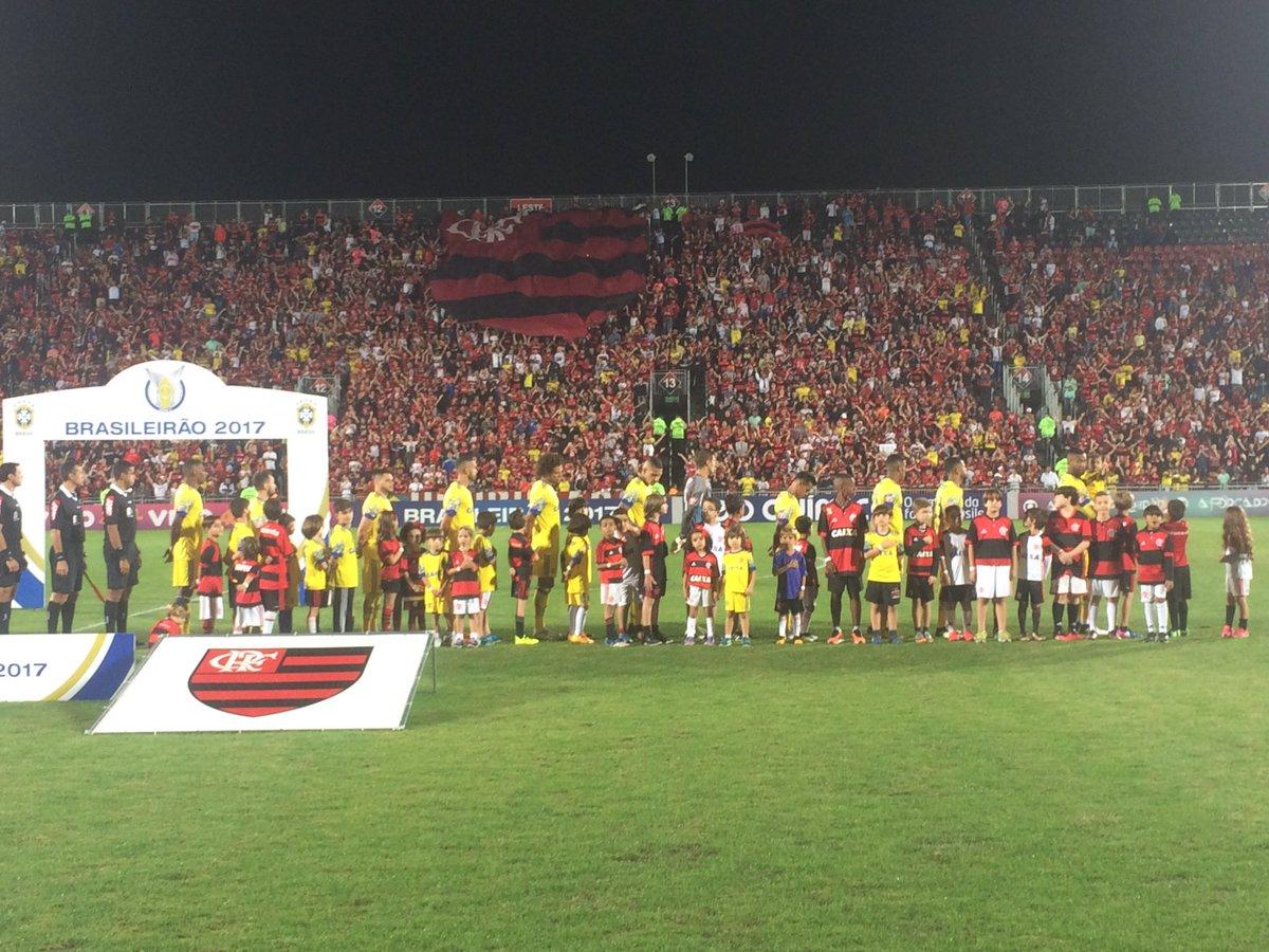 Como de costume, uma linda festa da Nação! Vamos, Flamengo! #FLAxCFC