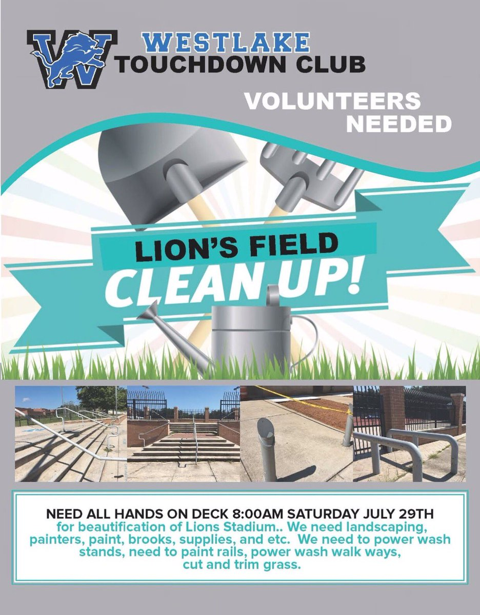 PARENTS: Come out and let&#39;s make our Den beautiful!   #Service <br>http://pic.twitter.com/qb7f8LKdeO