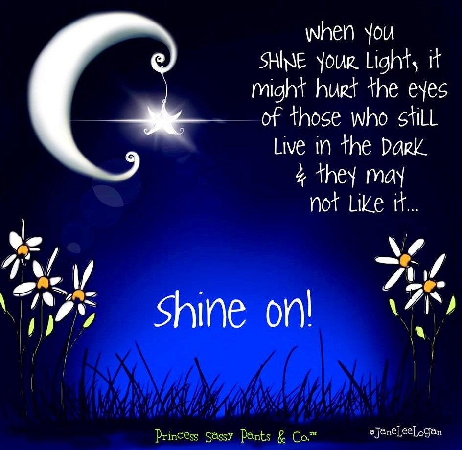 Shine On #BeYou #GoForIt @KKEntGroup @LoriMoreno @suziday123 @AkashaGarnier @always5star @hmgivingsoul @HighheelsDes @JenniferPilates<br>http://pic.twitter.com/1mPduNnSFO