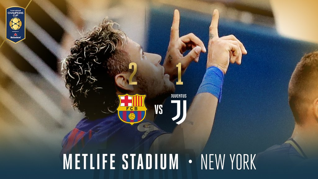 Juventus sconfitta 2-1 dal Barcellona, Neymar semplicemente spaziale