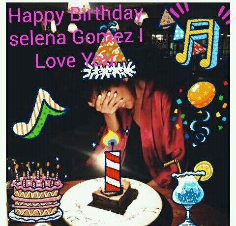 Happy Birthday Selena Gómez I Love you  25 Years