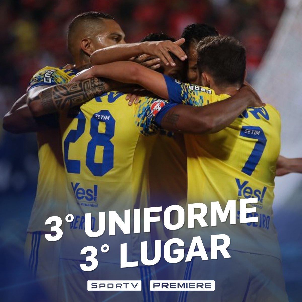 O novo uniforme deu sorte pro Mengão! #BrasileiraoNoSporTV #NossoFutebol