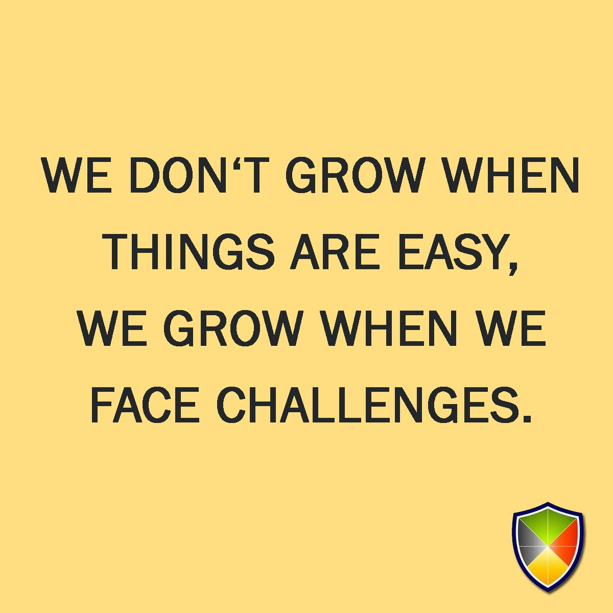 We don&#39;t grow when things are easy, we grow when we face challenges. #sundayshare <br>http://pic.twitter.com/iaT3m280R3
