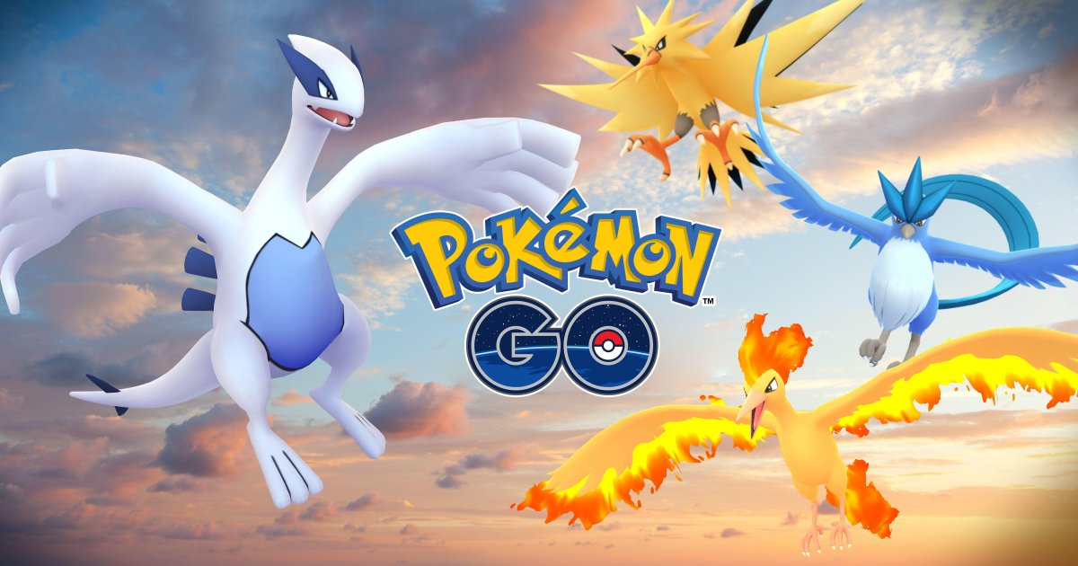 Legendary Pokémon Articuno and Lugia are here! #AdventureTogether http...
