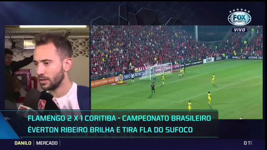 Éverton Ribeiro já mira reencontro: 'Sempre bom jogar contra uma grande equipe como é o Corinthians' #RodadaFOX
