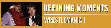 #MSG Network&#39;s &quot;Defining Moments: #WrestleMania 1&quot; w/ @davidlagreca1 &amp; myself airs Tomorrow 12:30 pm &amp; Monday 9 am<br>http://pic.twitter.com/uPxoV0rB5W