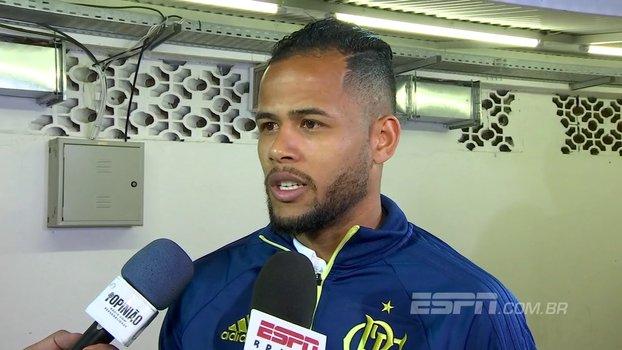 Geuvânio aposta em evolução do Fla, fala sobre preferência em posição para atuar e projeta jogo contra o Corinthians https://t.co/p8ScGlB2Bx