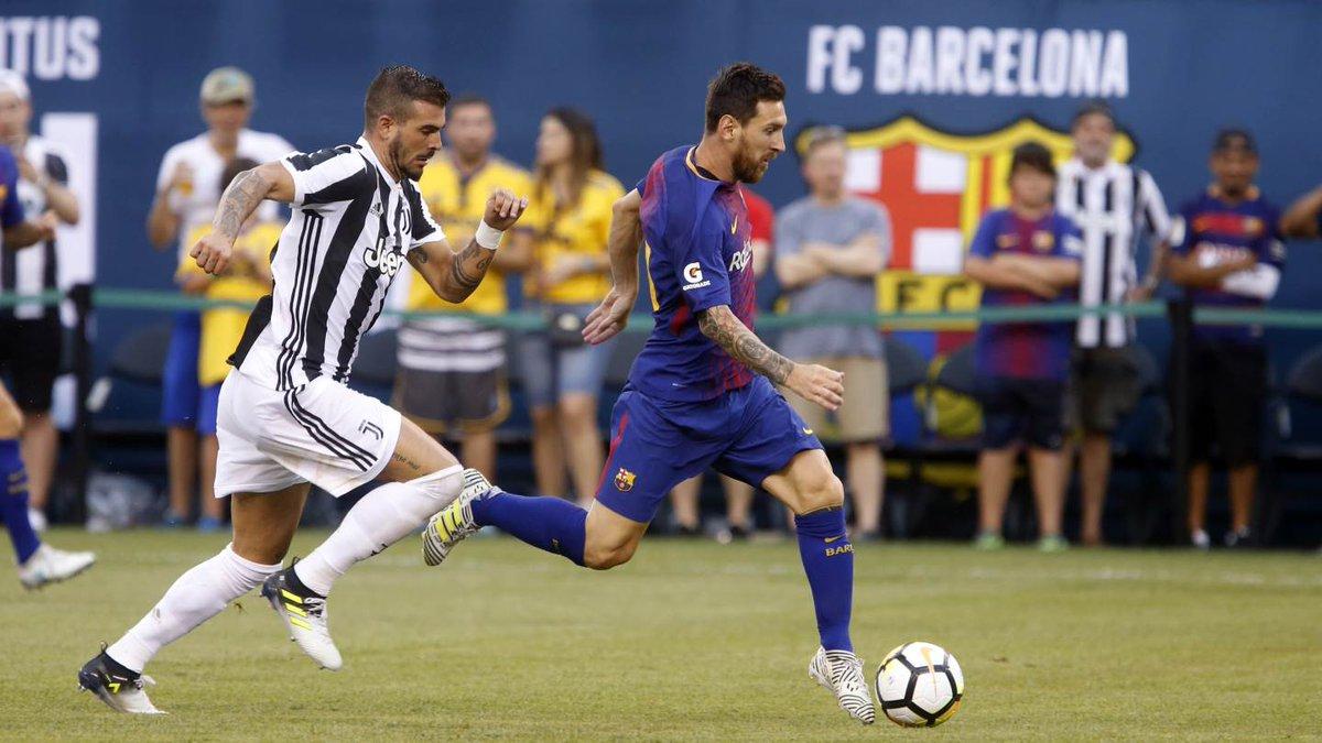 JUVENTUS-BARCELLONA 1-2, doppietta di Neymar che non è umano
