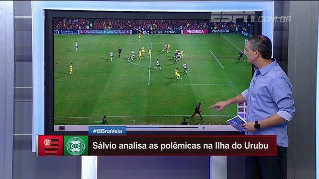 Falta no gol de Berrío? Pênalti em Vinícius Jr? Sálvio analisa os lances de Flamengo x Coritiba https://t.co/H6xLRGMt28