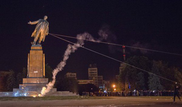 There were over 5,500 statues of Vladimir Lenin in Ukraine in 1991.  Today they are none left.