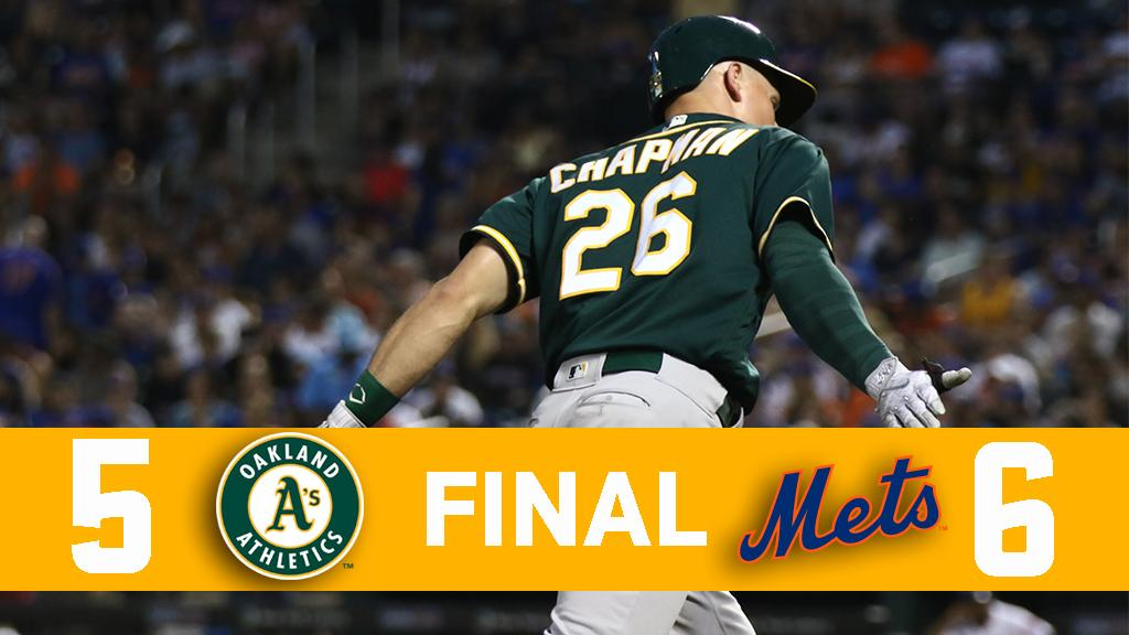 RECAP: A's narrowly lose game two, 6-5 https://t.co/sP2H7Q0bYG https:/...