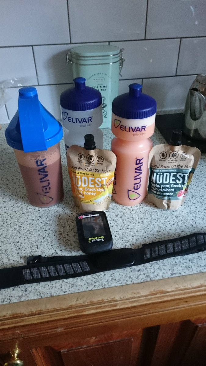 Must be a long ride on the cards today. #beprepared making sure I&#39;m fuelled by @ElivarSport @NudestFoods #endure #hydrate #Albi<br>http://pic.twitter.com/mi6BVwd9Xe