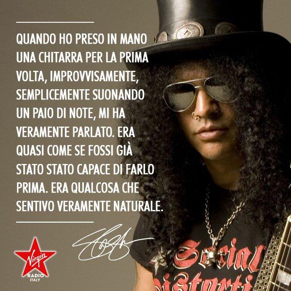 RT@ VirginRadioIT Happy birthday Slash.