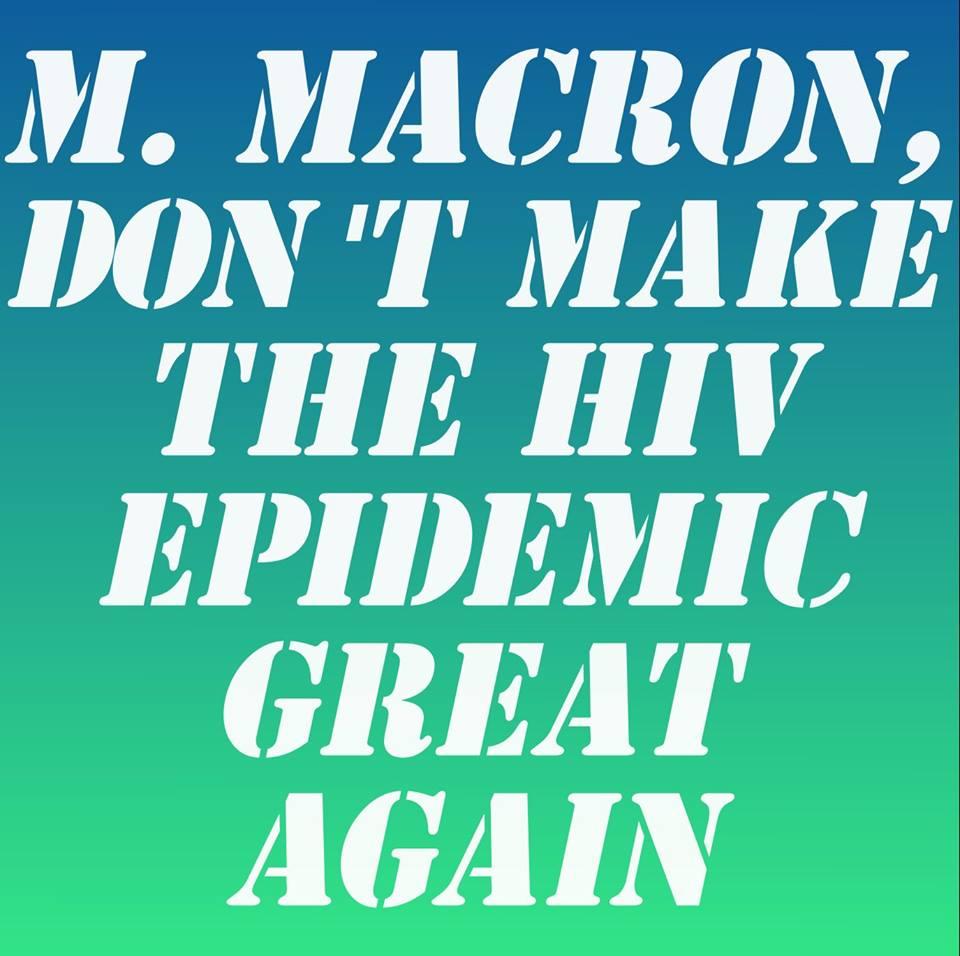 Le Président Macron annule sa venue à la conférence #sida de Paris. Nos associations réagissent ➡️ https://t.co/5JLM5H64IR #IAS2017 #MEPRIS
