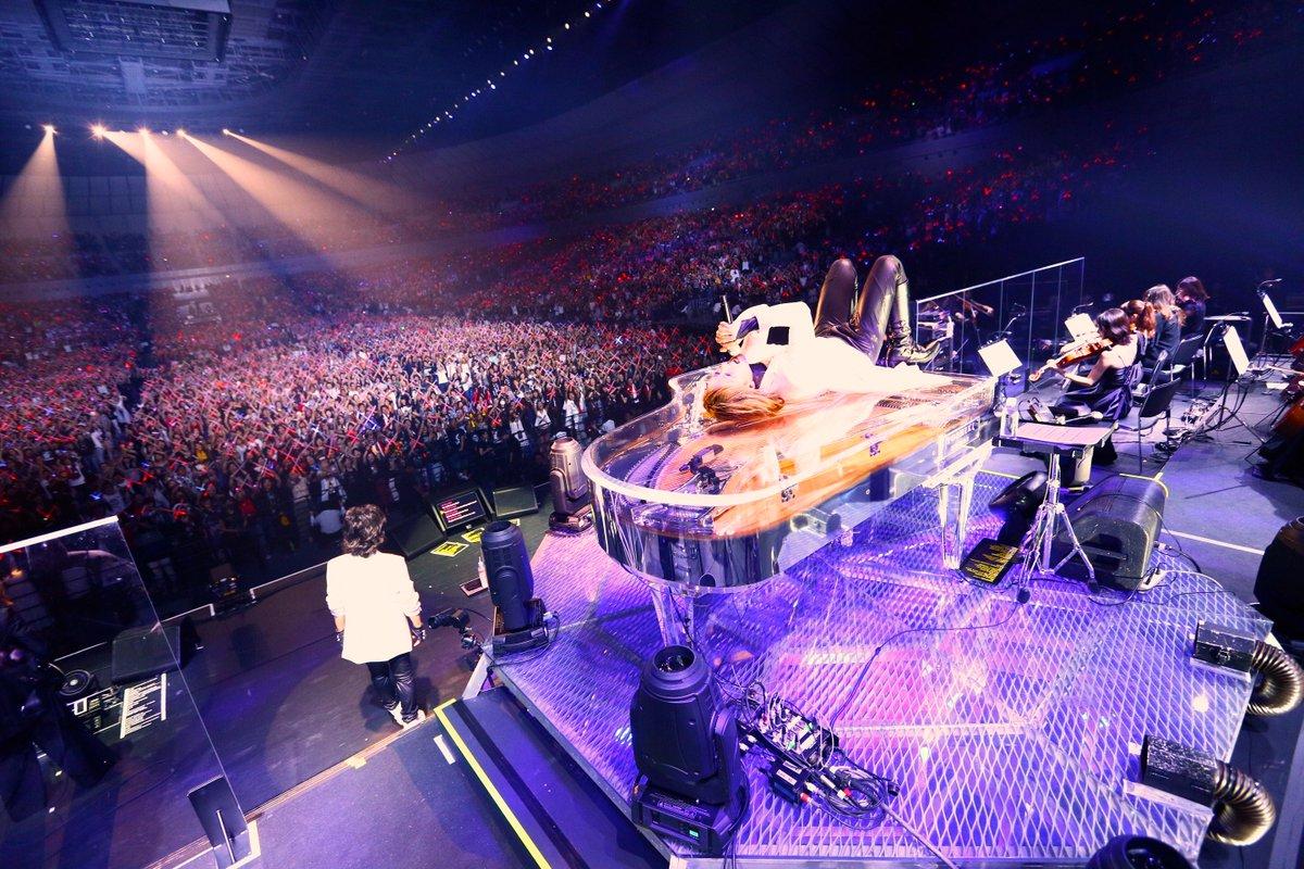 We are--- #WeAreX https://t.co/t5Vd328UT2 RT @YoshikiChannel    【今夜18:00〜生放送!】#XJAPAN 日本ツアー完結SP〜奇跡の全貌を初公開〜 #LADYSX  https://t.co/hFI7W3KuH9