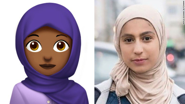 'I just wanted an emoji of me': Headscarf-wearing women now have their own emoji, thanks to a 16-year-old Saudi girl https://t.co/GwUuhWm2zj