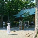 母から頼まれたので宣伝です神奈川の有鹿神社の人が、パンダのかぶり物をしています。たまに外して深呼吸し…