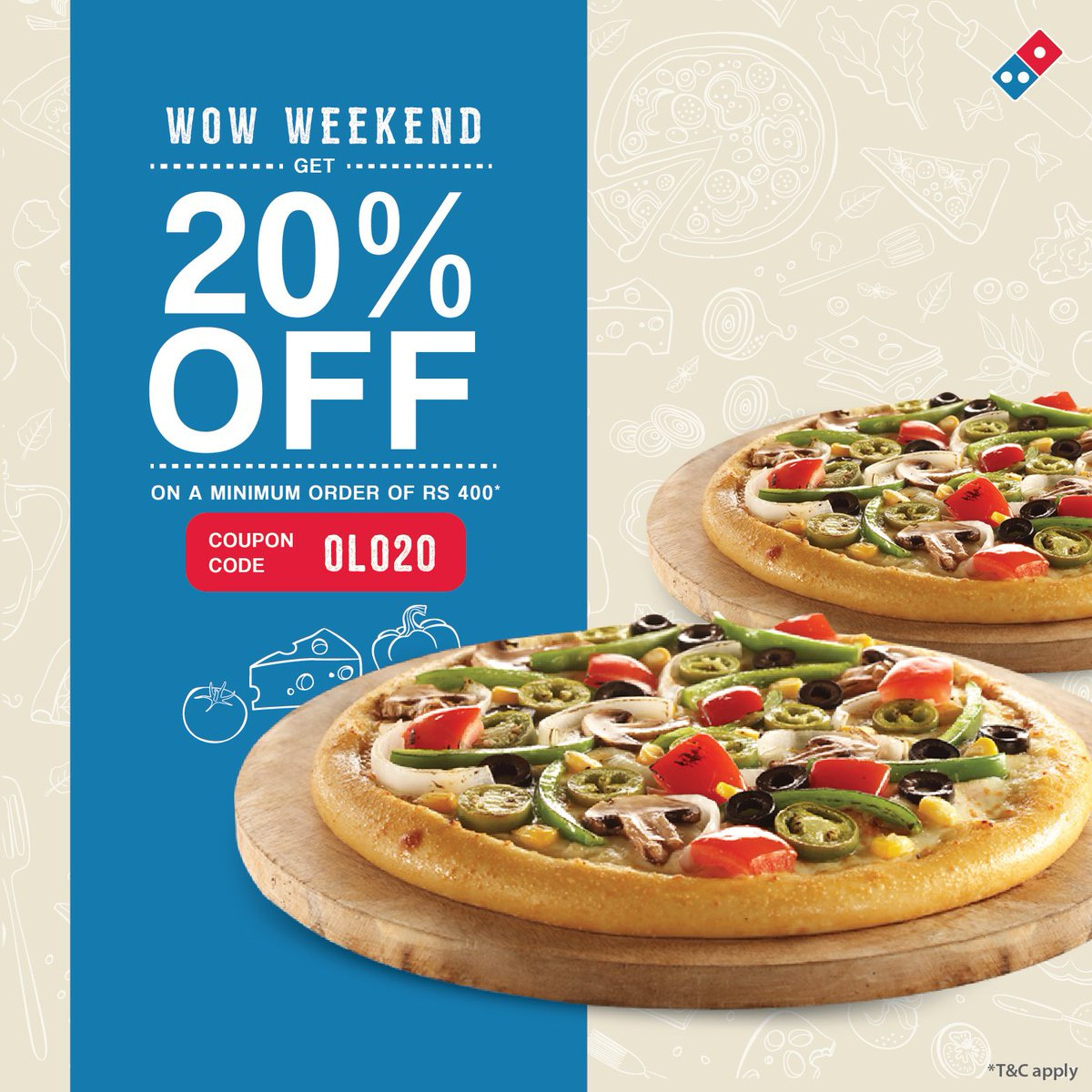 dominos pizza coupon codes 20 off
