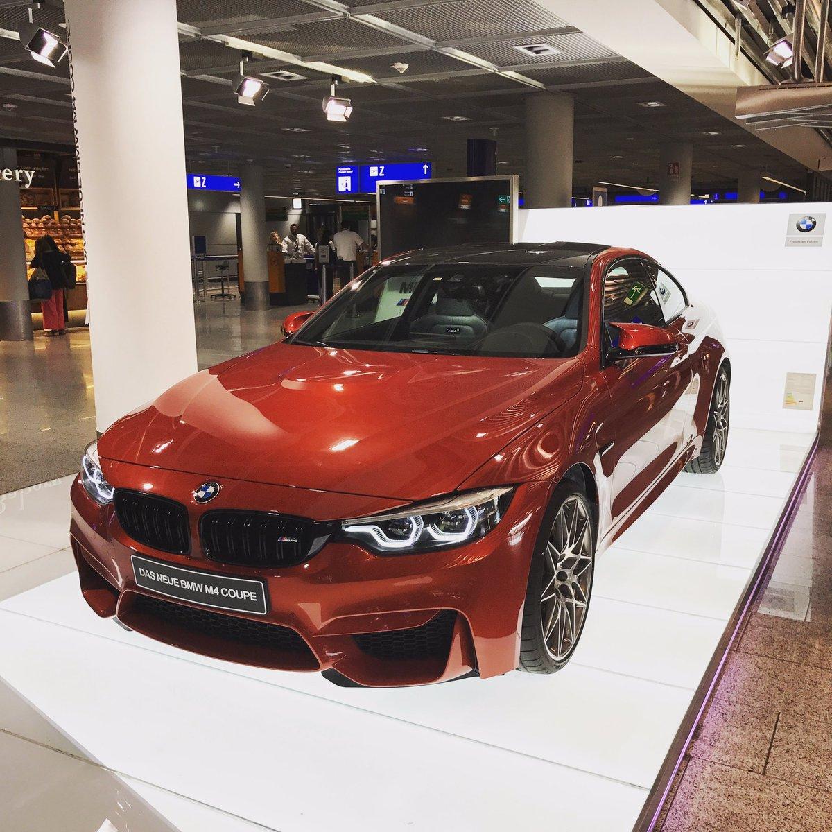 Duty free shopping at Frankfurt Airport. @BMW_SA