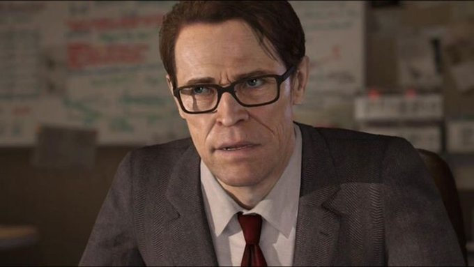"""Happy Birthday Willem Dafoe, who gave a great performance in the qdream_ru game, \""""Beyond Two Souls\"""""""
