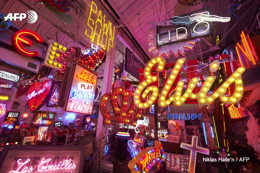 Retro trend lights up London's labyrinth of neon https://t.co/qBuoPpzn61