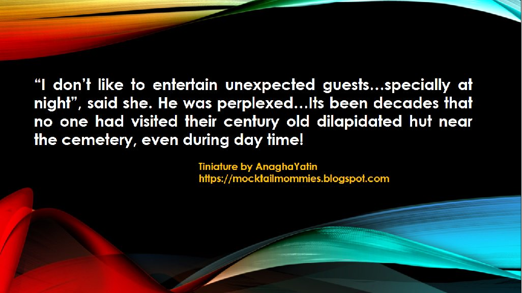 @gayatri_gadre #Tiniature #BeingAuthor #TinyTales #spooky #guest and ghostly hosts! https://t.co/6R20TVfVi6