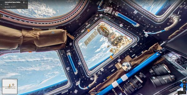 Go take a virtual tour of the International Space Station right now https://t.co/kr1Ysbk7ET