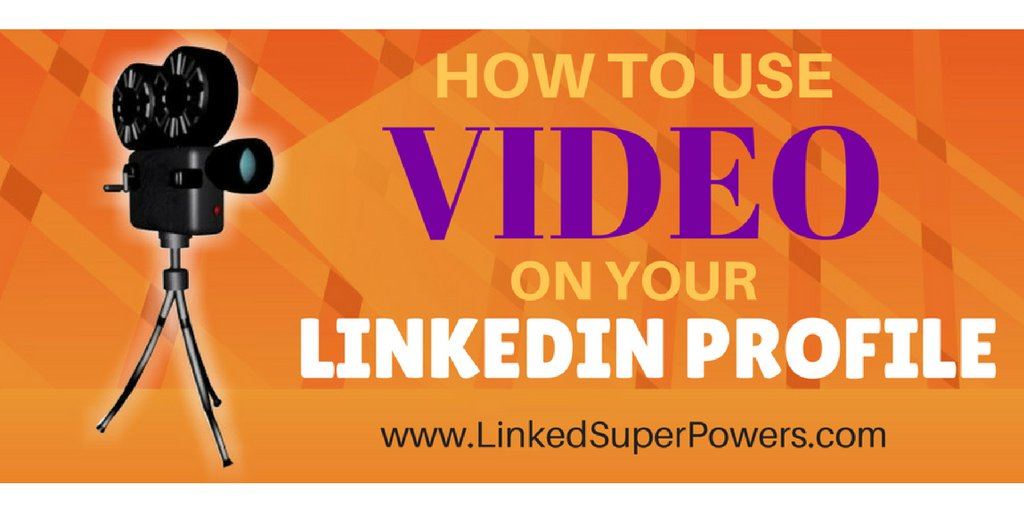 #LinkedIn Expert Reveals: How To Use Video On Your LinkedIn Profile  http:// buff.ly/2unP1Ff  &nbsp;   by @DennisKoutoudis #socialmedia<br>http://pic.twitter.com/sfvwsshpV9