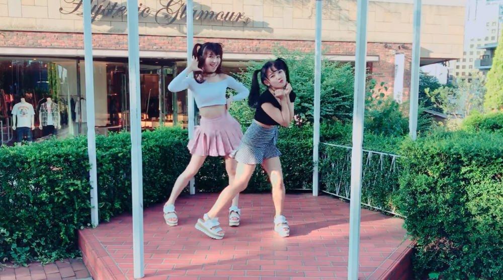 さすが姉妹  天木じゅん&黒田絢子、姉妹で息ピッタリの「TT」ダンス ファン「ず...