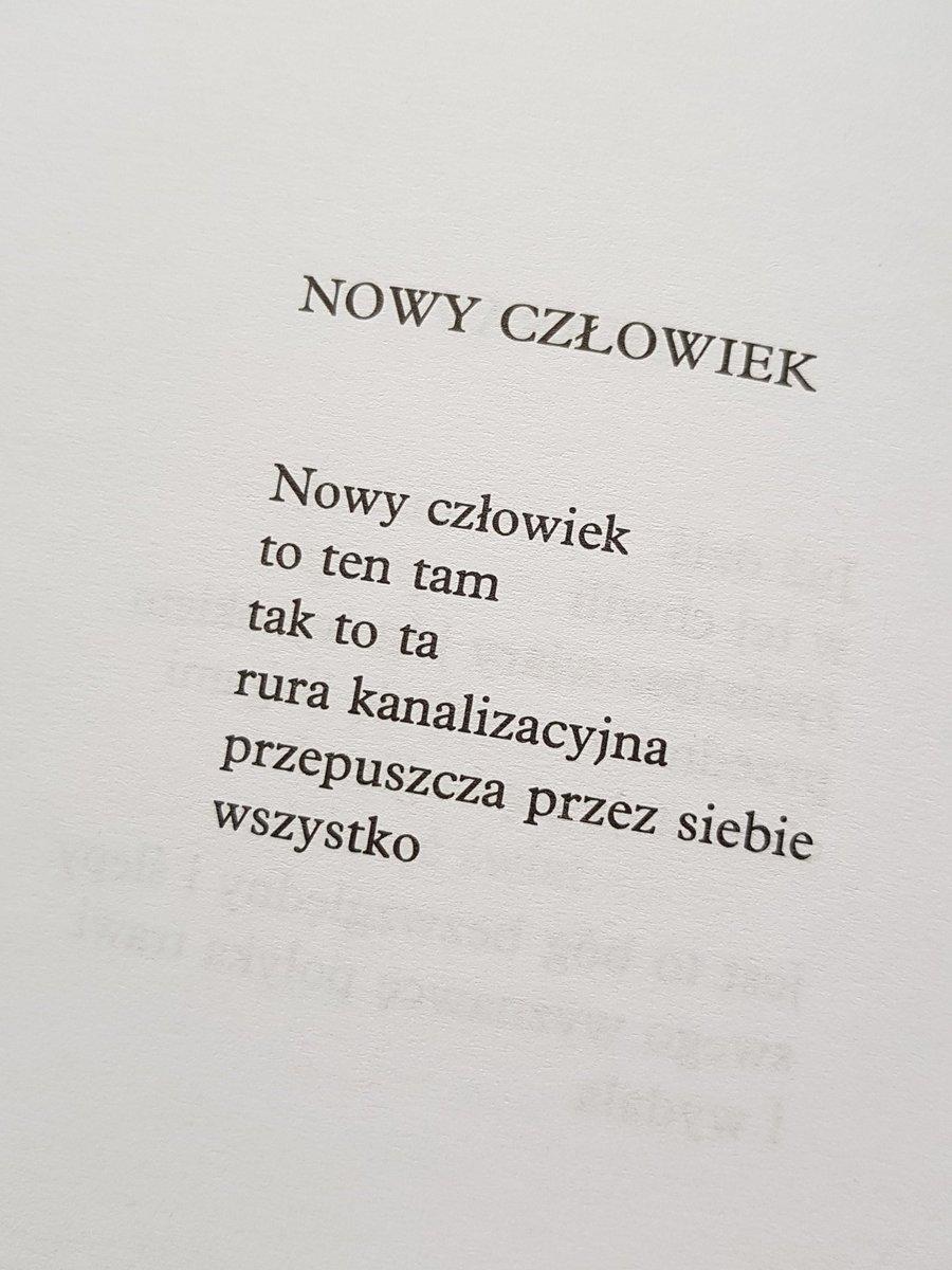 Robert Rutkowski On Twitter Ryszard Krynicki Z Tomu