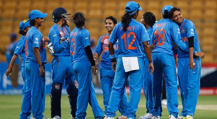 Here is wishing #WomenInBlue all the luck for #WomensWorldCup2017. You are the BESTEST. Jai Hind & Jai Ho.👍🇮🇳