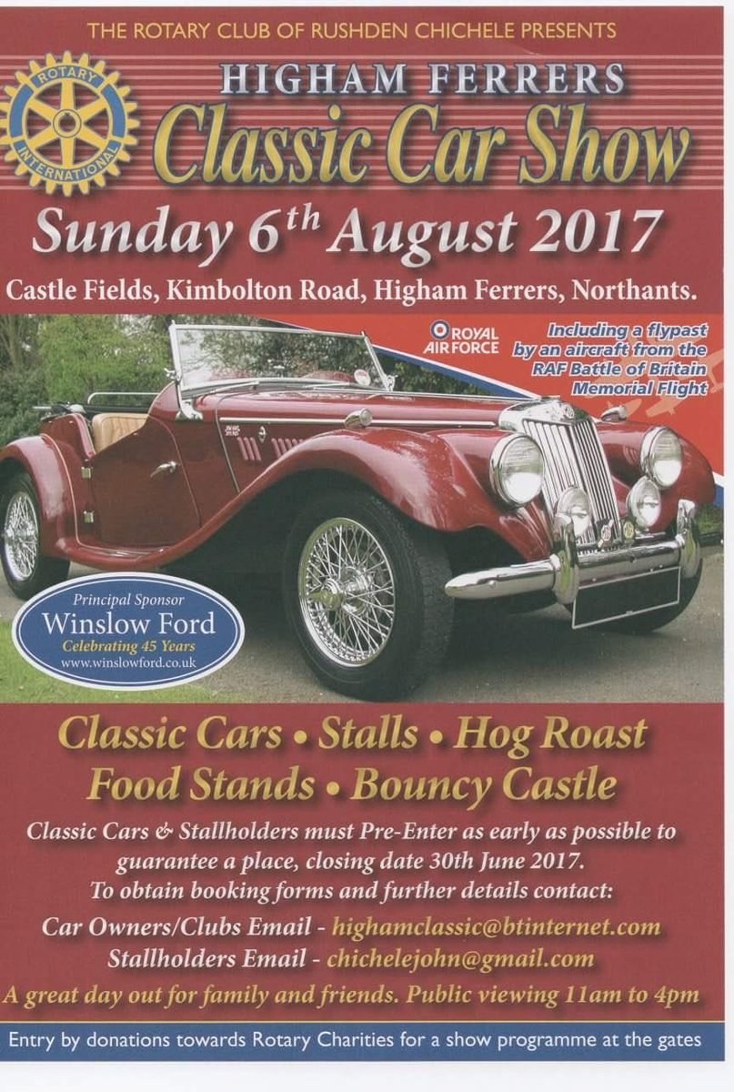 Good Times Cafe UK On Twitter Coming Week Thurs Rd Olney Thurs - Classic car show york