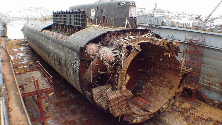 уничтожение подводной лодки курск