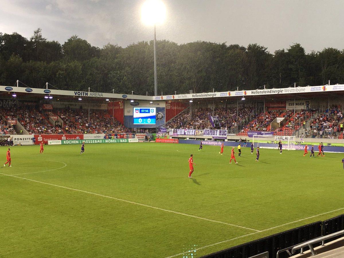 1. FC Heidenheim vs Erzgebirge Aue 2. Bundesliga 2017/2018