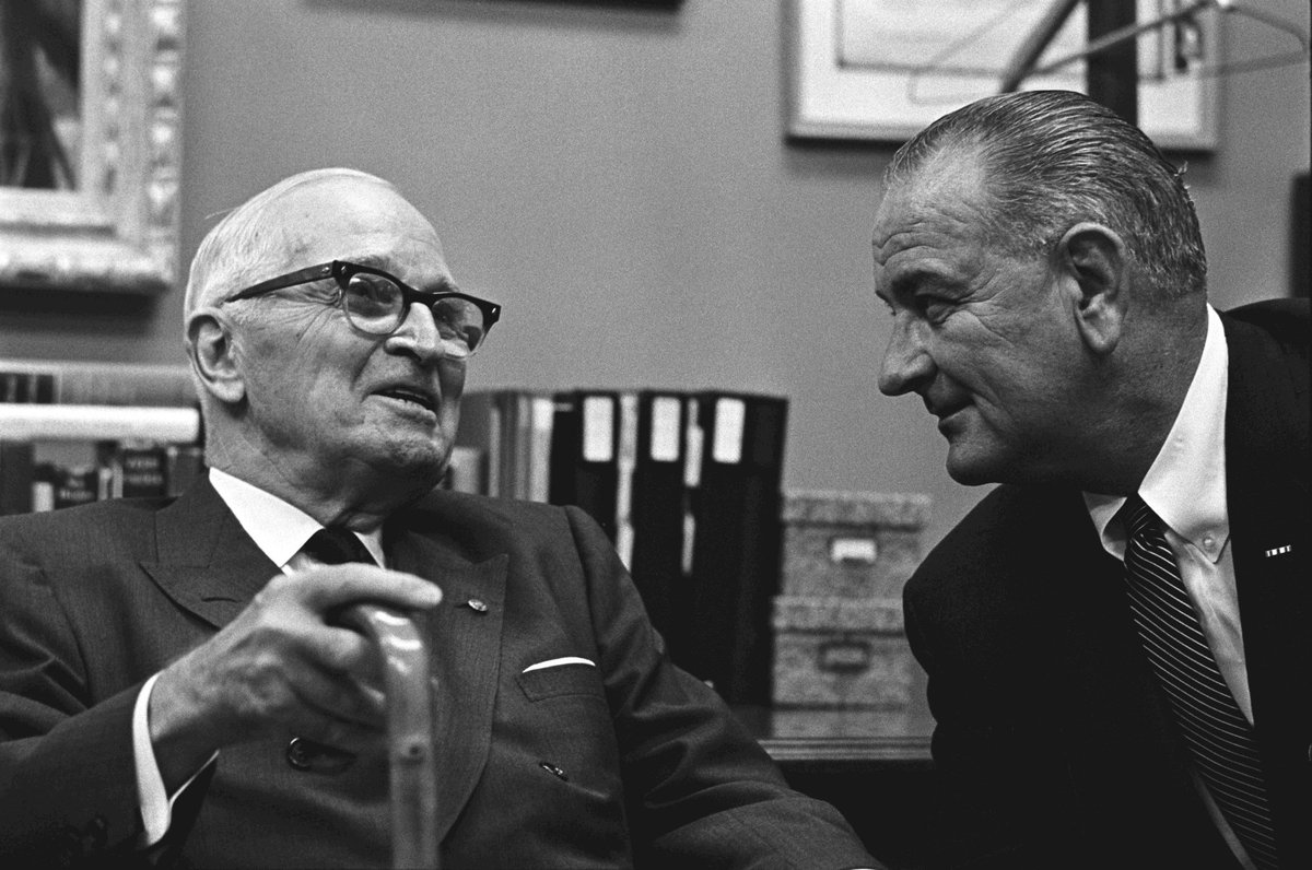 harry trumans and lyndon johnsons successes in handling of us foreign policy Lyndon b johnson and john f kennedy and higher ranking of president ronald reagan at 8th with poor ratings in handling of the economy, communication, ability to compromise, foreign policy d roosevelt, theodore roosevelt, lyndon b johnson, woodrow wilson, harry truman, john f.
