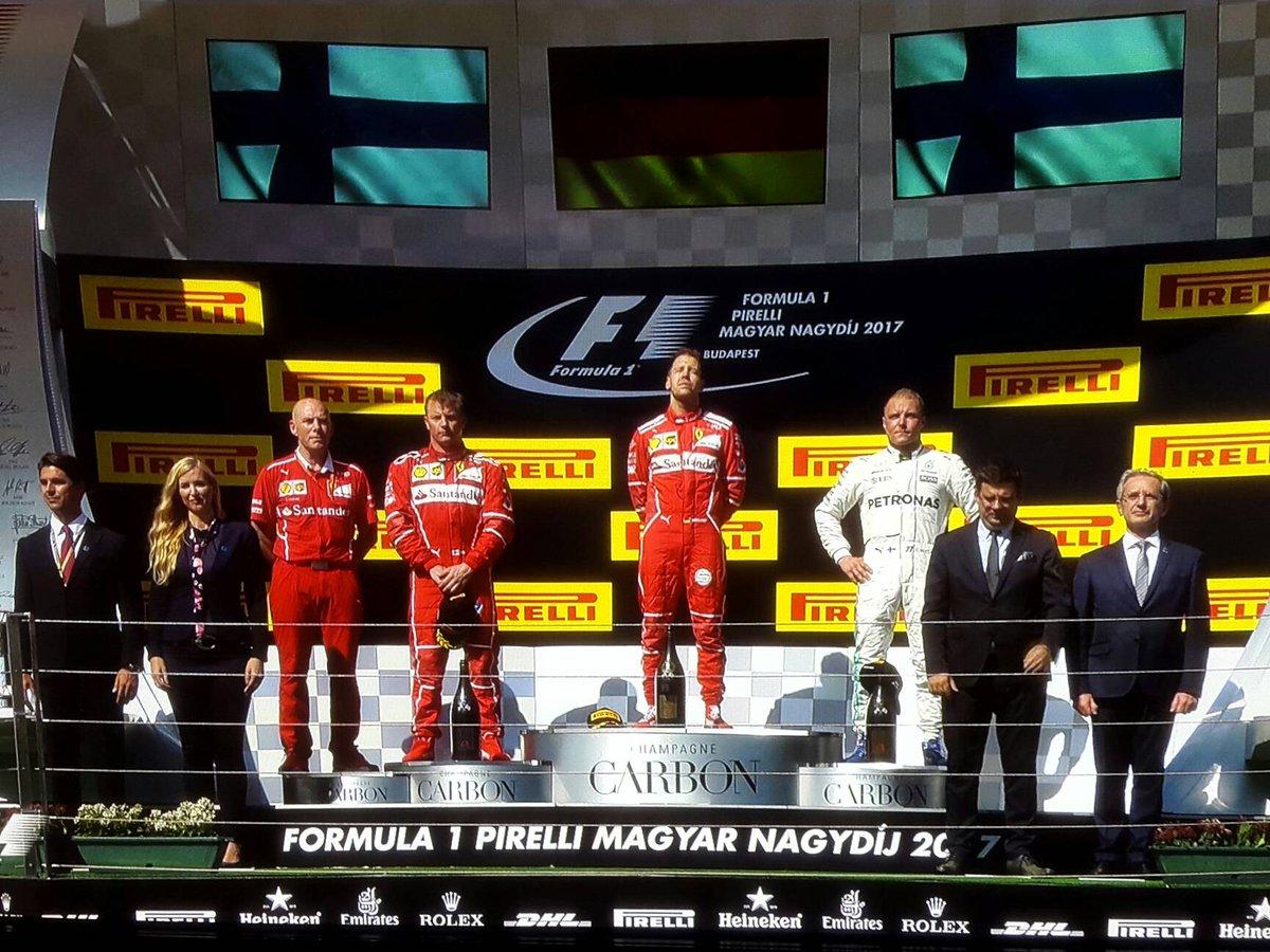 Doppietta Ferrari in Ungheria: Vettel trionfa a Budapest | Motori Formula 1