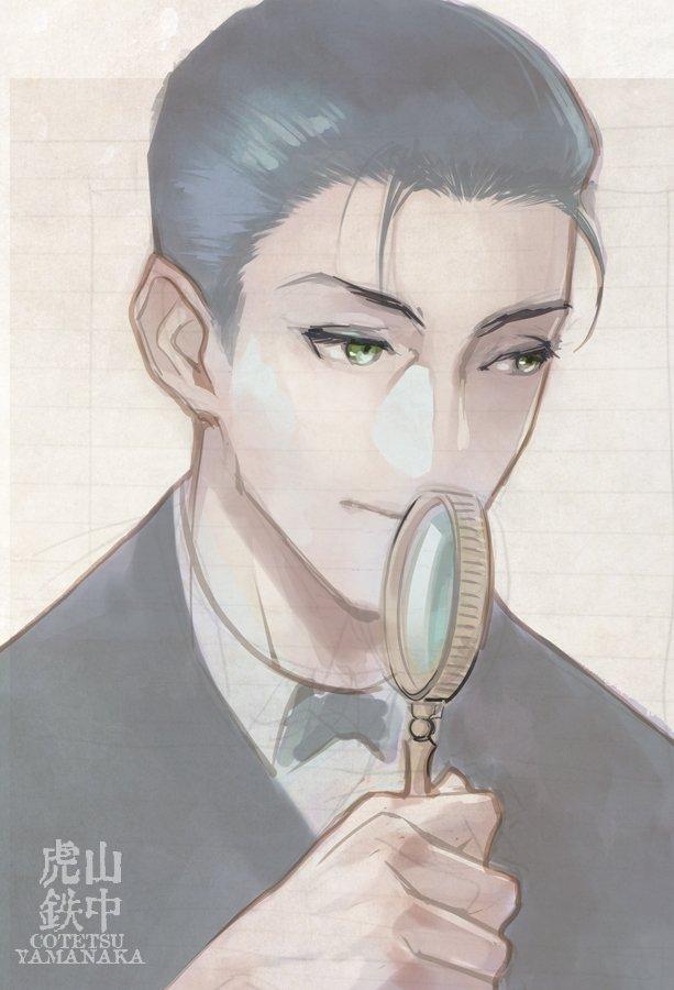 FGO シャーロック・ホームズを描かせて頂きました。 #FGO #ホームズ