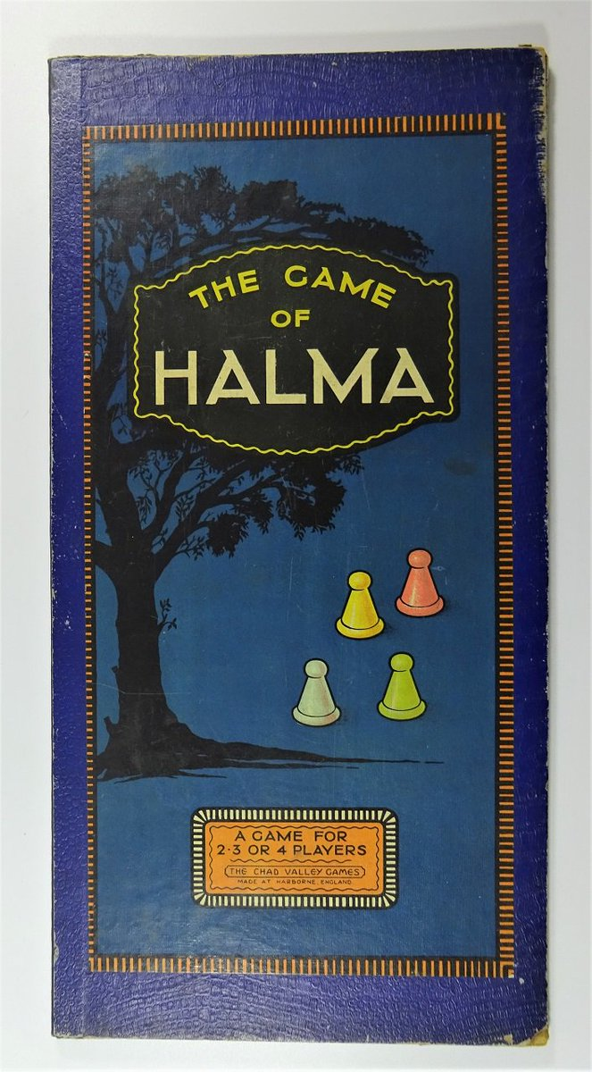 The #game of #Halma created by George Howard Monks. A #strategy bored game creating unlimited amounts of #fun. #Richmond #Sunday #BoredGame<br>http://pic.twitter.com/KJWxMVdfjE