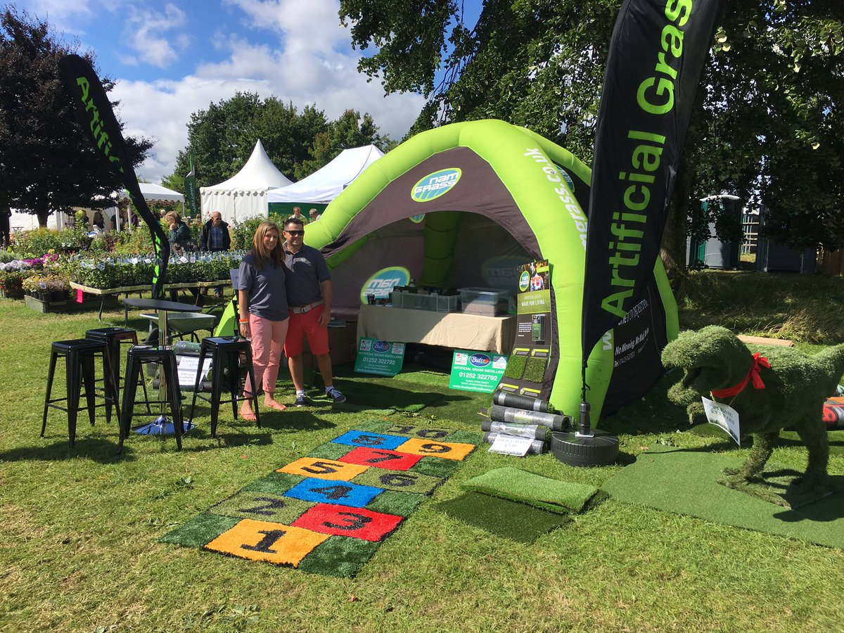 RT @Namgrass_lee A big thanks to @Budslandscapes for a great weekend at the excellent @LoseleyPark garden show!