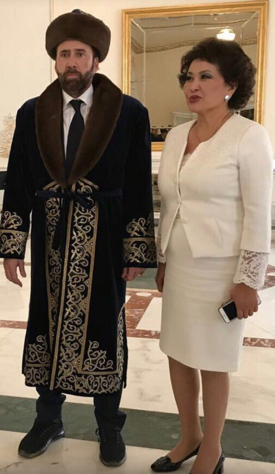 This picture of Nicholas Cage in Kazakhstan pretty much made my day. https://t.co/FauuOJBK5H
