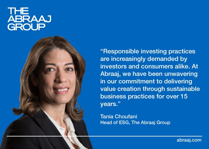 Head of #ESG Tania Choufani on Abraaj&#39;s commitment to responsible investing in #GrowthMarkets:  http:// bit.ly/2vFvWht  &nbsp;  <br>http://pic.twitter.com/foojOhMhah